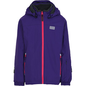 LEGO wear Lwjodie 714 Jakke Børn, dark purple
